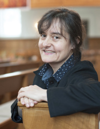 Bettina Wiesendanger —  in der Kirche